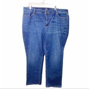 St. John's Bay Plus Size Straight Leg Jeans